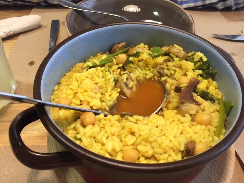 Paprika - Arroz de vegetales