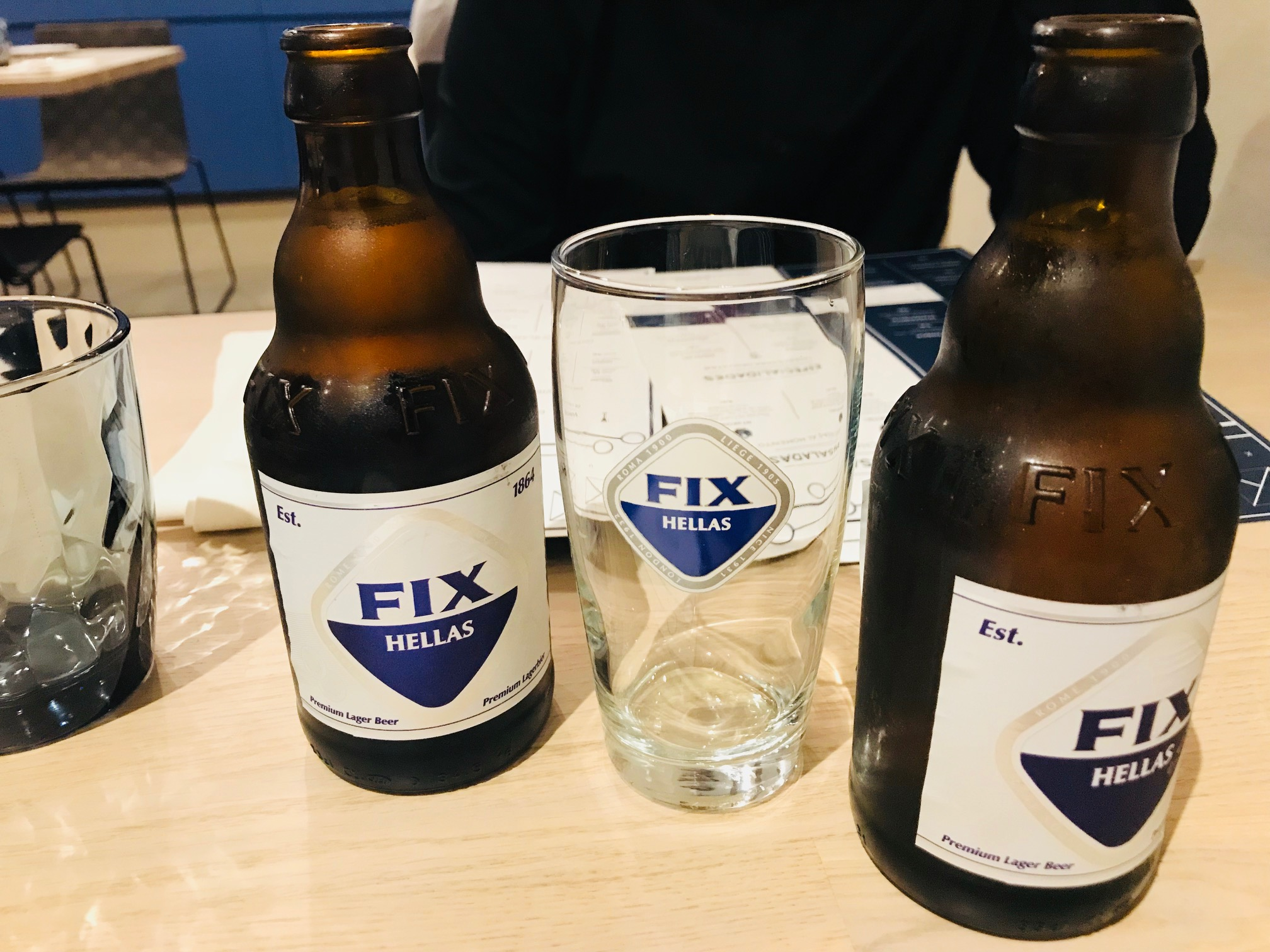Cerveza griega: Fix Hellas